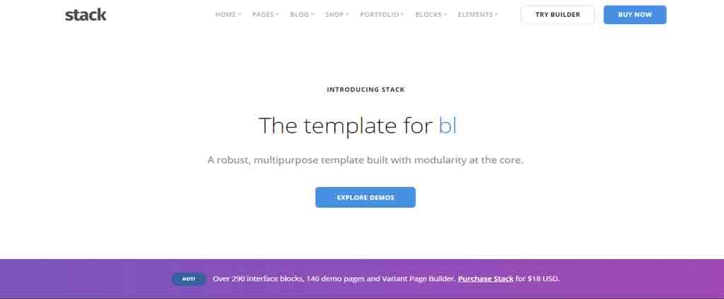 html theme demo