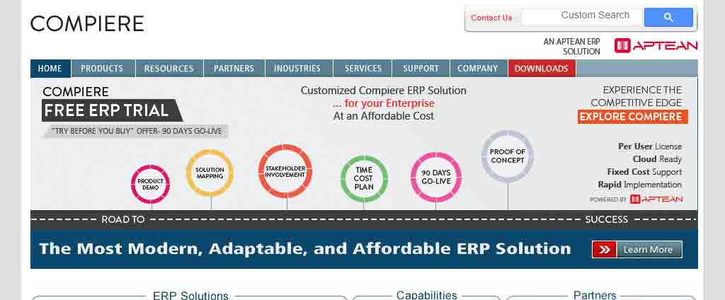 modern, affordable and adaptable ERP solution