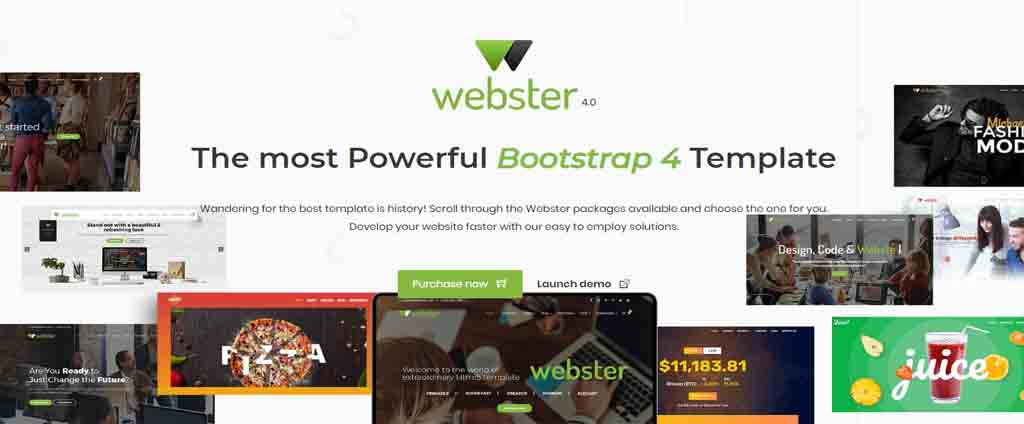 most powerful boostrap html template
