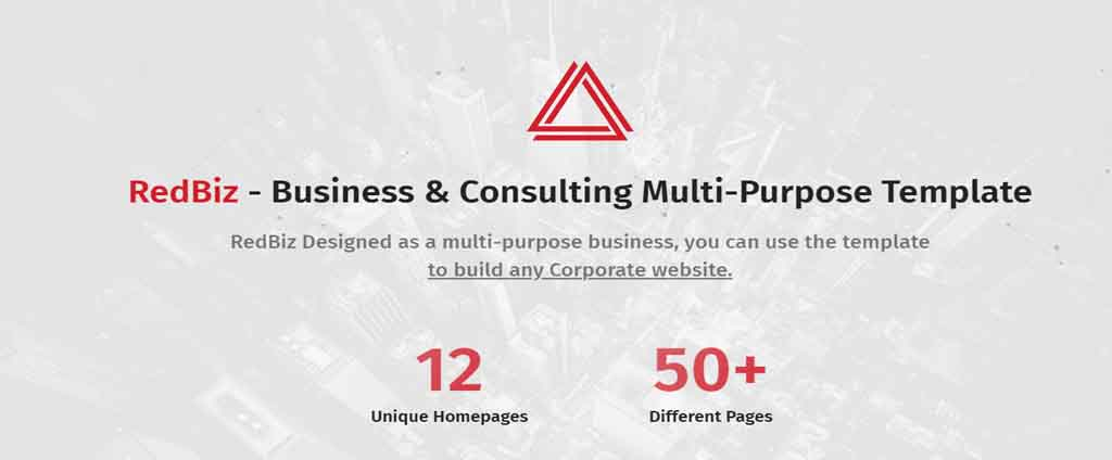 red biz html theme