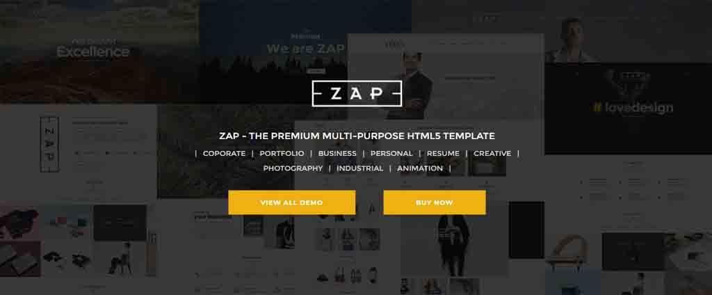 zap html template