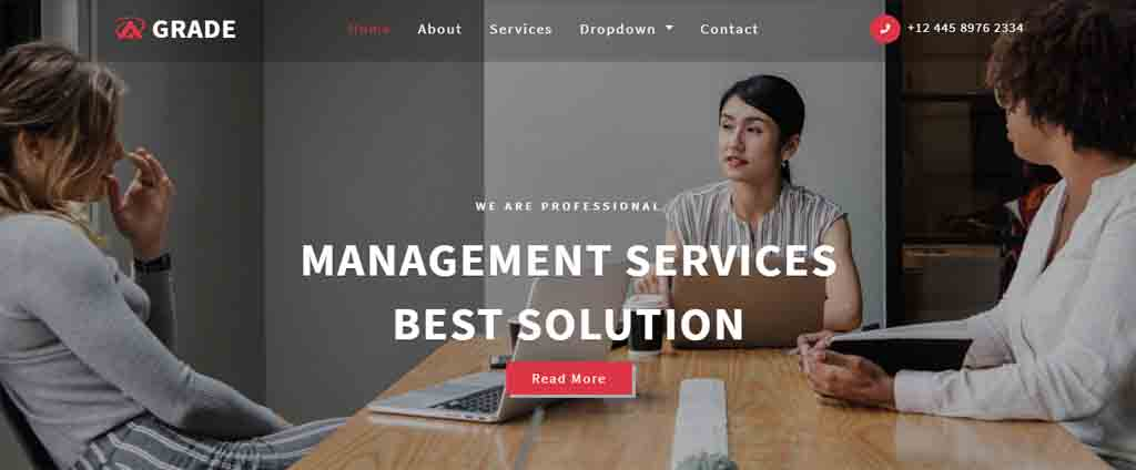 management service best business theme