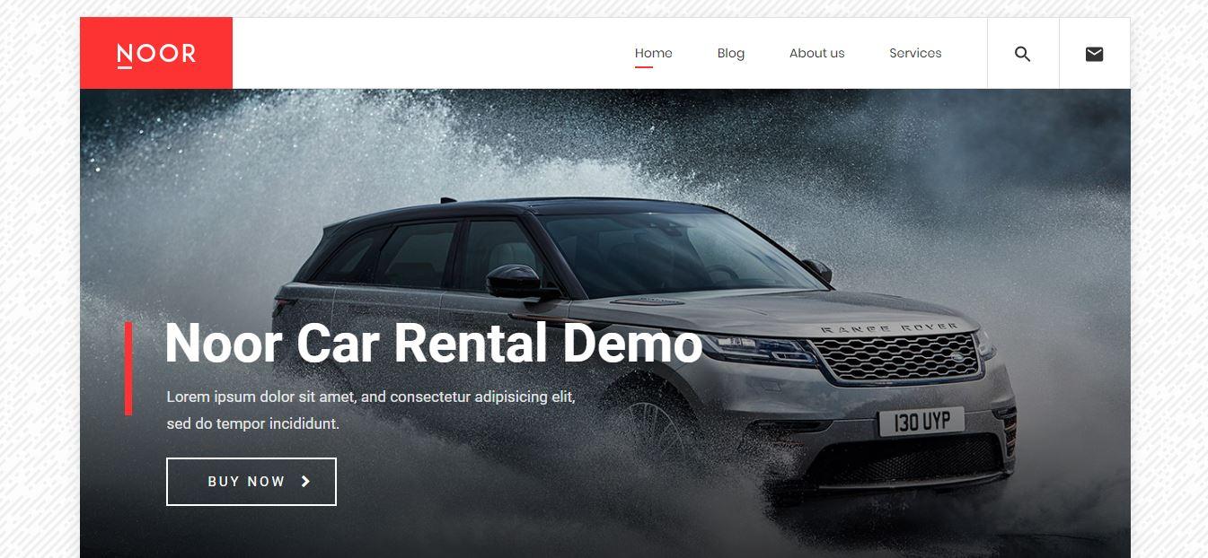 Noor car rental demos