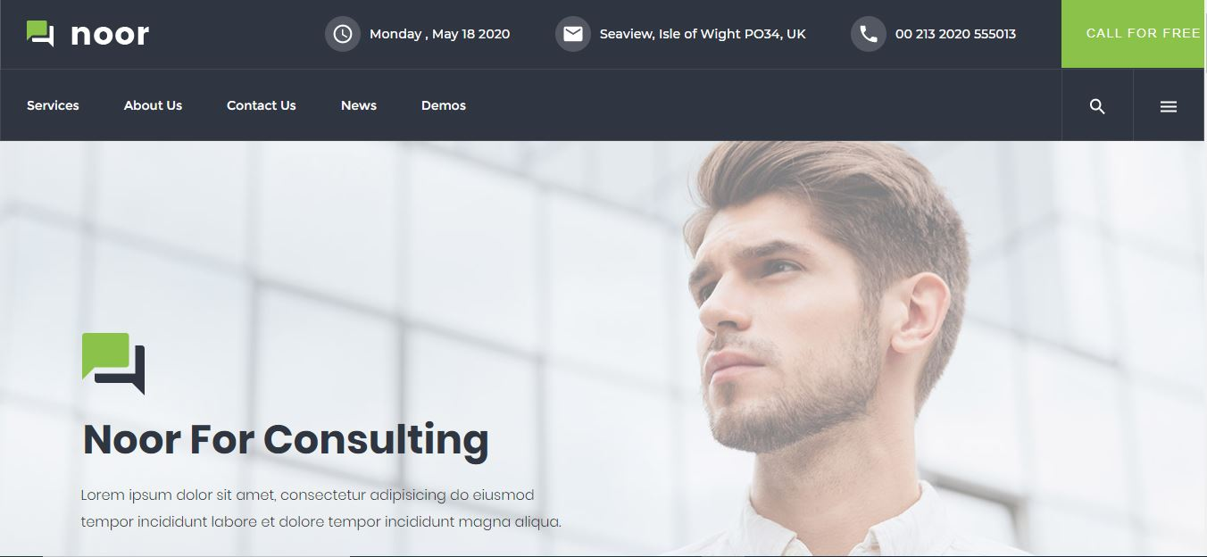consulting theme noor
