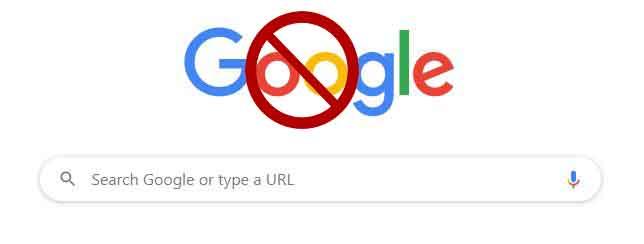 google penalized