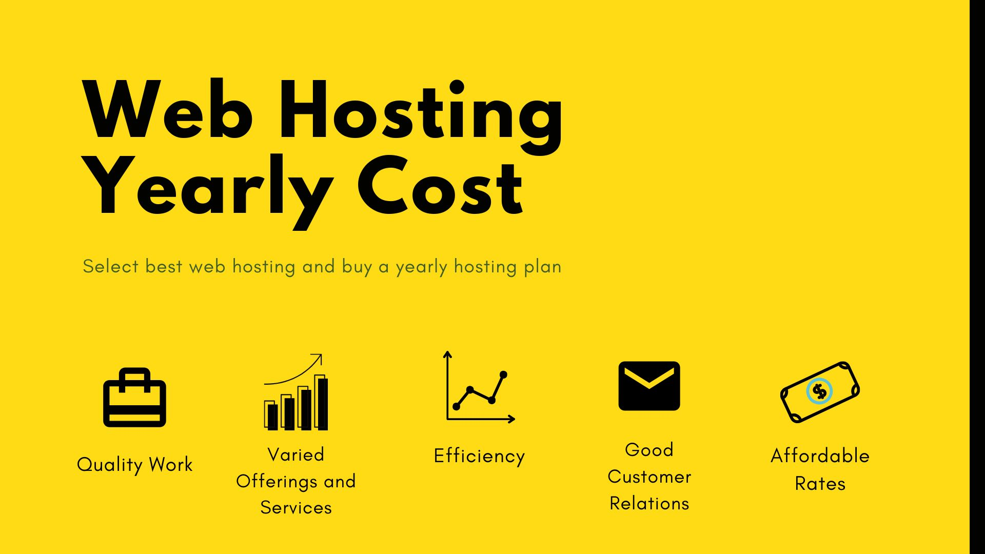 Web Hosting Yearly Cost