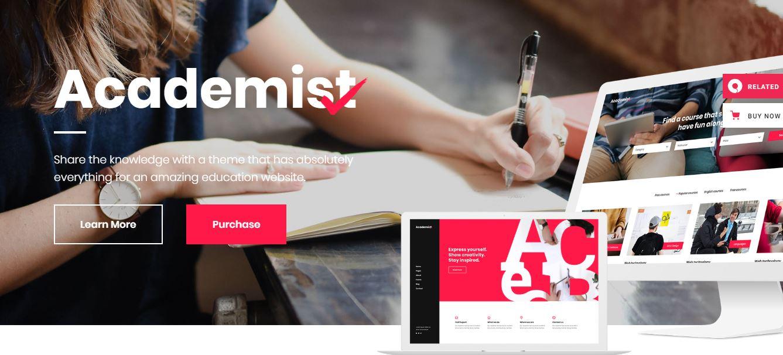 Academist wordpress theme