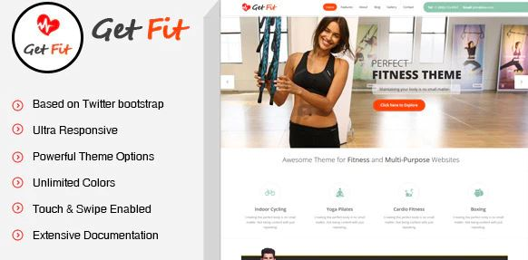 Fitness Gym WordPress