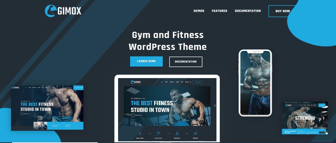 Gimox is a Well-organized and clean WordPress theme Null