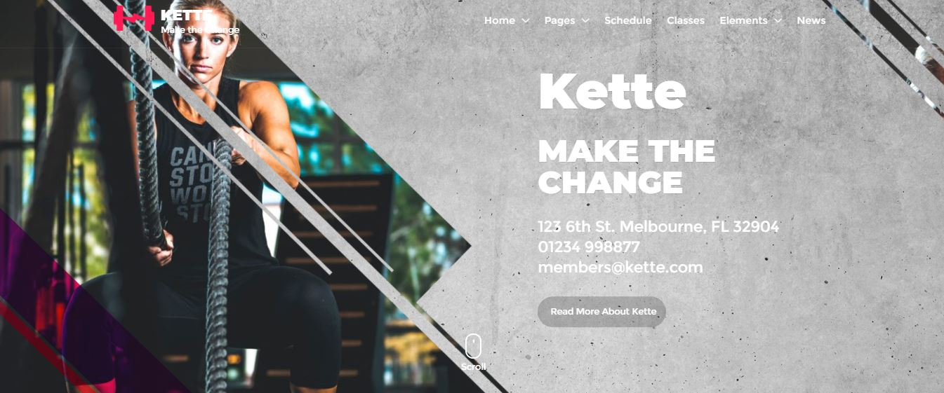 Kette is a premium WordPress theme