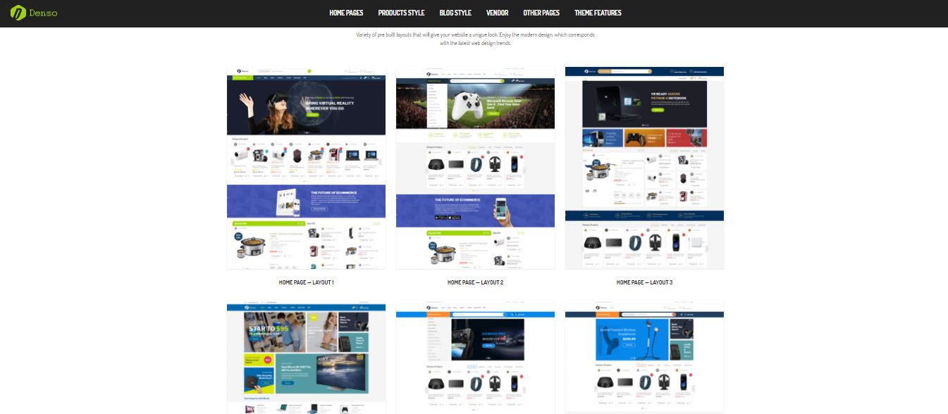 Denso - Advanced Electronics Store Woocommerce WordPress Theme