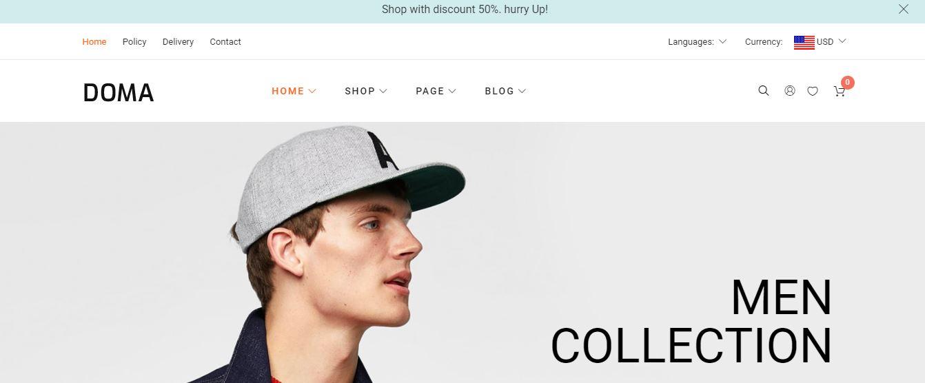 Doma - Google AMP Multi Vendor WooCommerce Theme