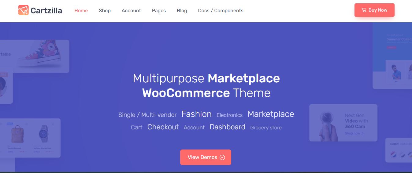 cartzilla wordpress vendor theme
