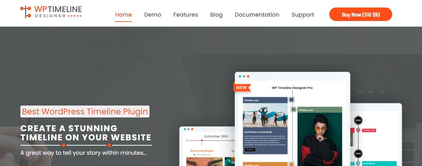 WP Timeline Designer Pro - WordPress Timeline Plugin